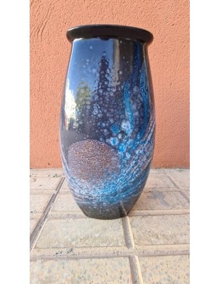 Jarron Poole Pottery Celestial Manhattan 36cm_segunda mano_cash creator_como nuevo