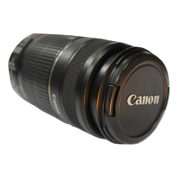 Objetivo Canon 55-250mm f4.5_segunda mano_cash creator