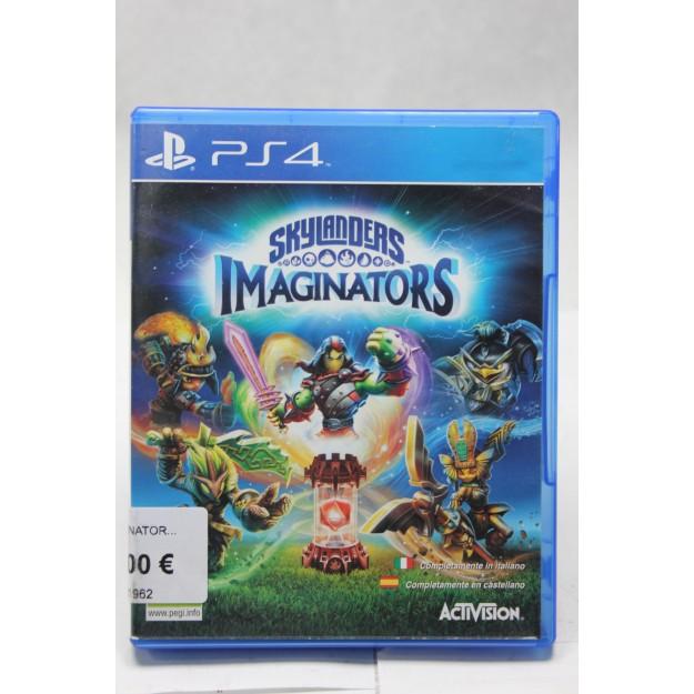 PS4 Juego Skylanders Imaginators_segunda mano_cash creator