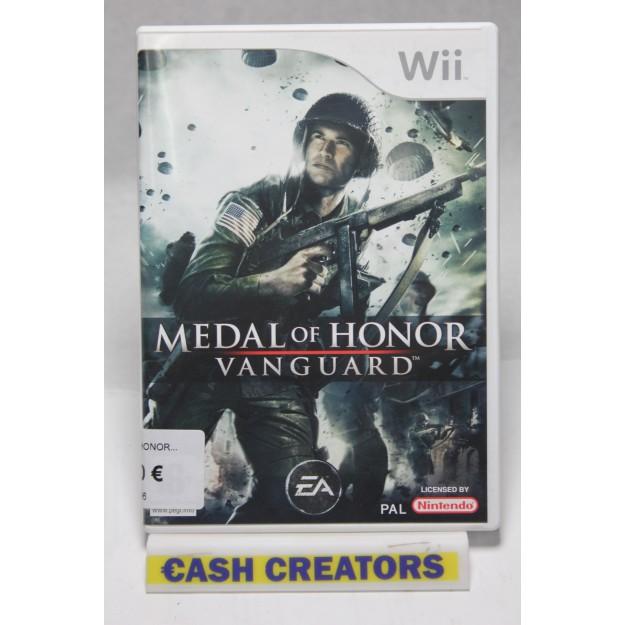 Wii Juego Medal of Honor_segunda mano_cash creator