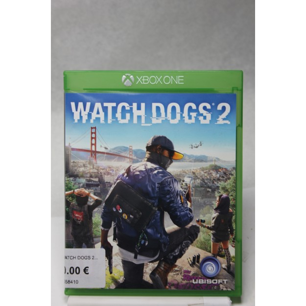 Xbox One Watch Dogs 2_segunda mano_cash creator