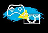 Videoconsola, juegos, camara de fotos, imagen y sonido