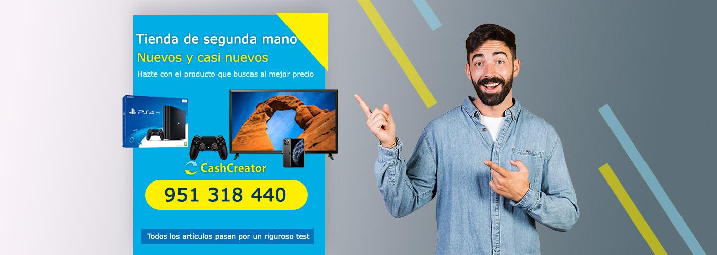 tienda de segunda mano en Málaga Cashcreator Cash Converters